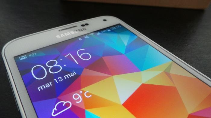 Galaxy S5 : écran