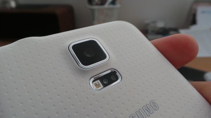 Galaxy S5 : capteur photo