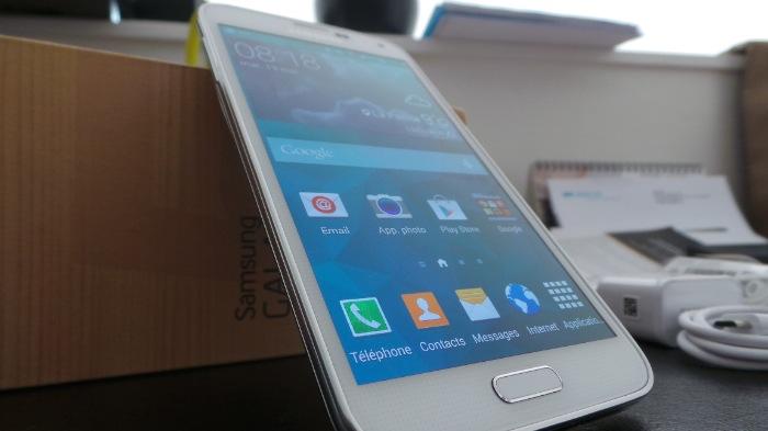 Galaxy S5 : face avant