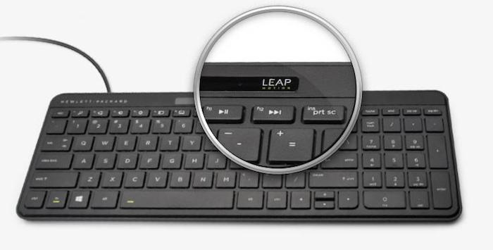 Clavier HP Leap Motion