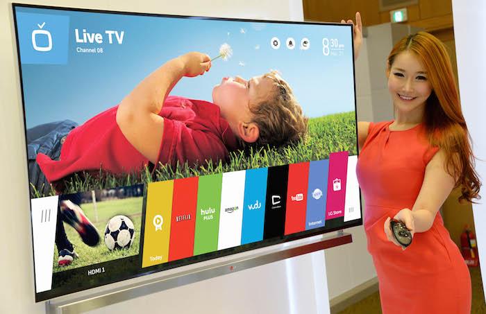 LG vend un million de Smart TV sous webOS