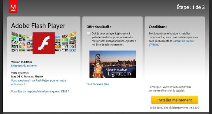 Firefox, Safari, Opera, IE 9 : une vulnérabilité dans Adobe Flash Player