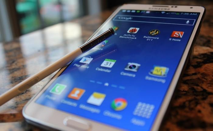 Galaxy Note 4 : un capteur ultraviolet