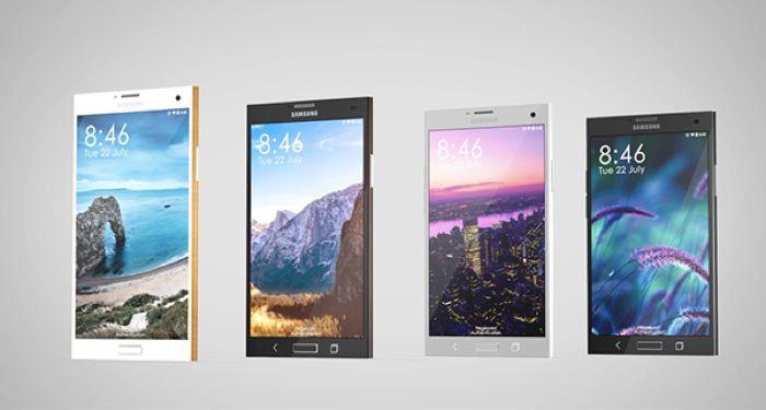 Galaxy Note 4 : un concept utilise des matériaux premium