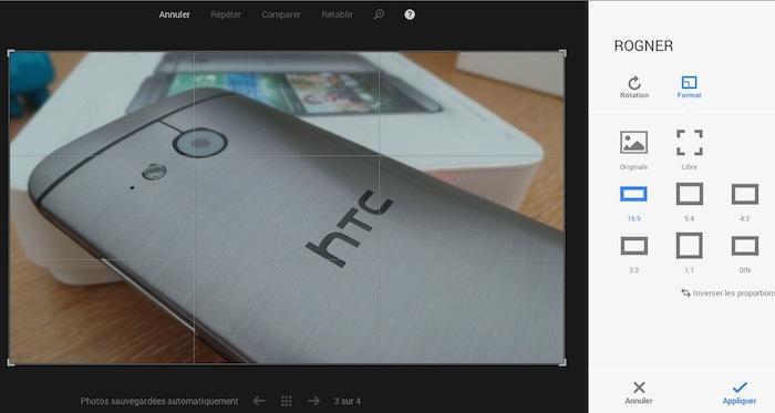 Google+ Photos offre de nouveaux outils d'édition