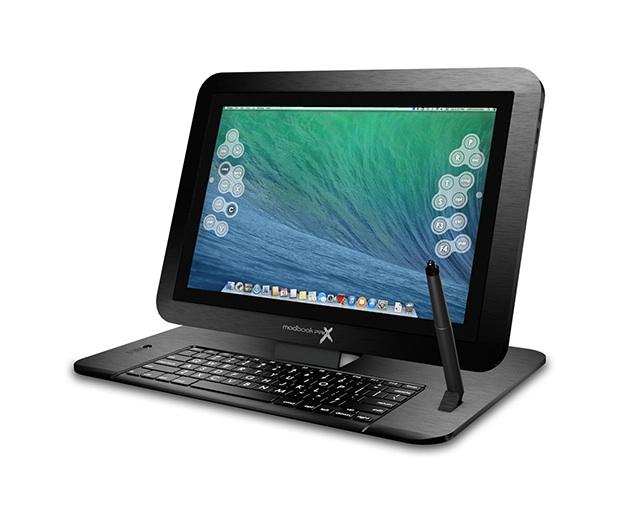 Modbook Pro X : un clavier permet de revenir en mode ordinateur portable