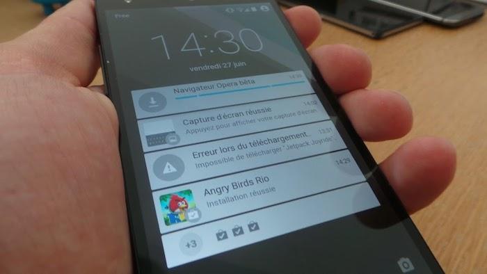 Android L Preview sur Nexus 5