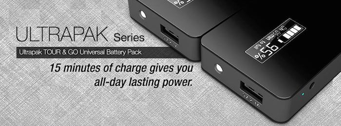 Ultrapack Tour Portable Battery Pack