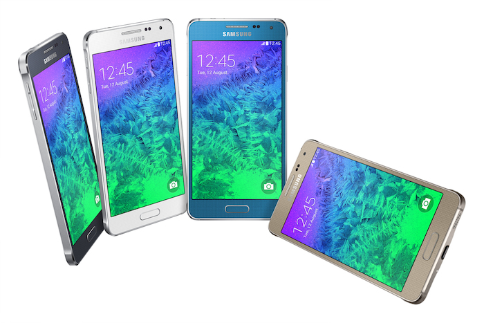 Galaxy Alpha : le smartphone en métal de Samsung enfin là