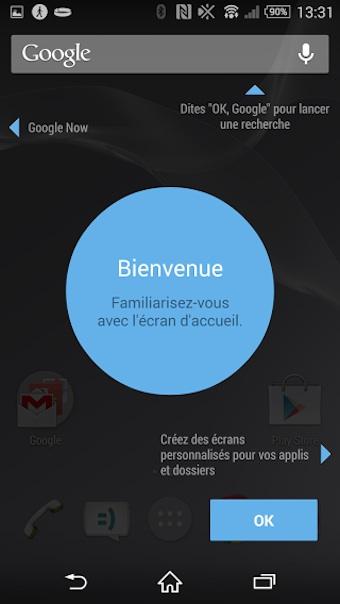Présentation de Google Now Launcher