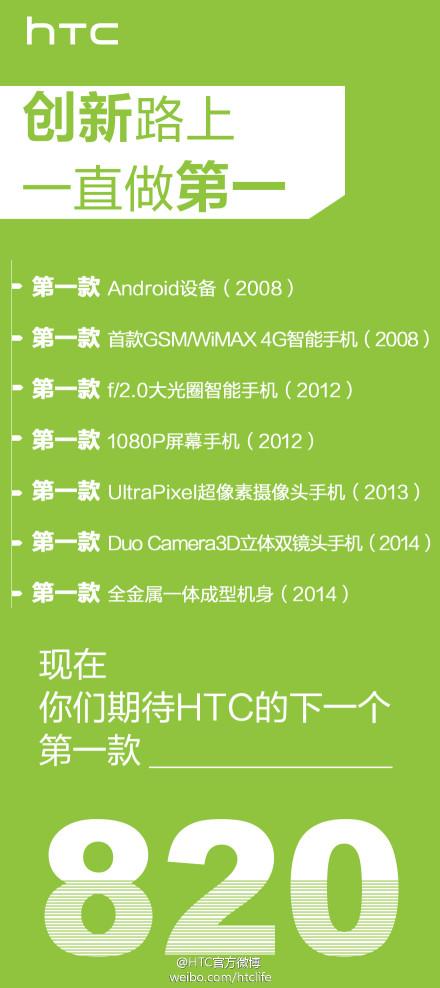 HTC pourrait révéler son premier smartphone 64 bits le 4 septembre