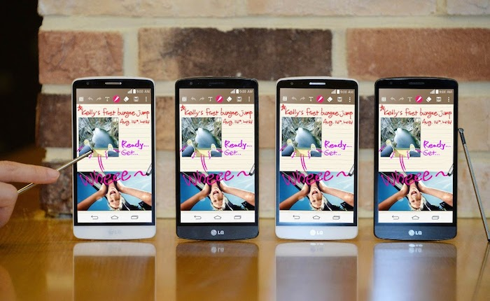 LG annonce le G3 Stylus, un rival du Samsung Galaxy Note