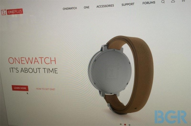 OnePlus OneWatch : It's about time