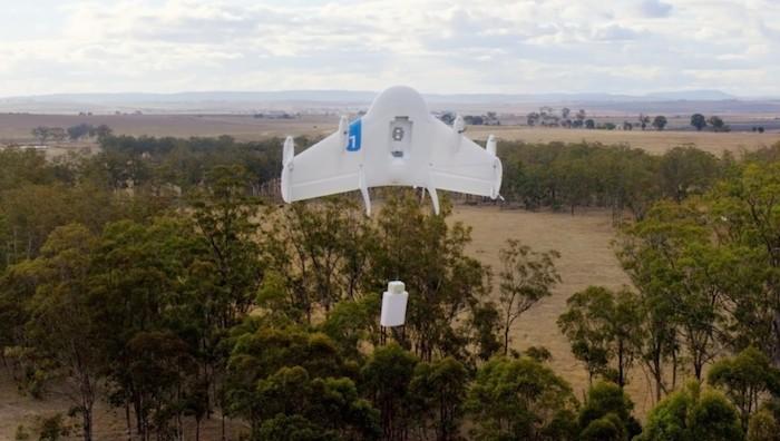 Project Wing : un service de Google de livraisons par drones