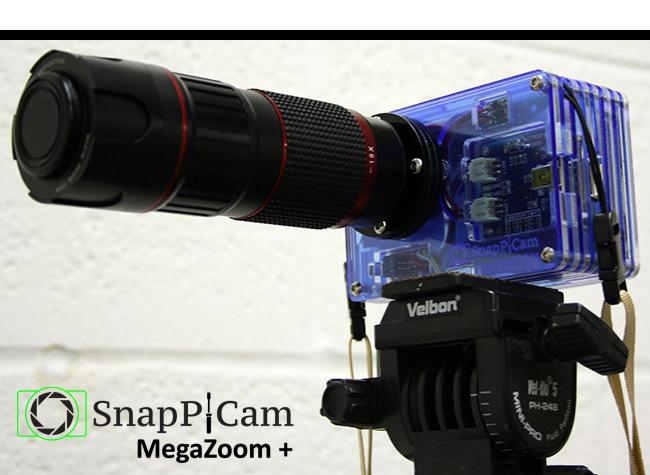 SnapPiCam MegaZoom+