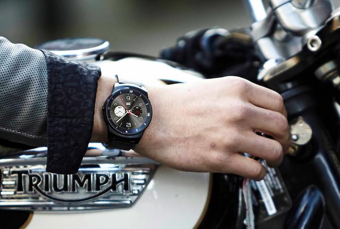 La LG G Watch R est peut-être la plus convaincante