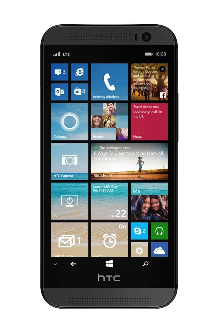 Voici le HTC One M8 sous Windows Phone 8.1