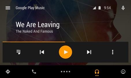 Android Auto : cliché 2