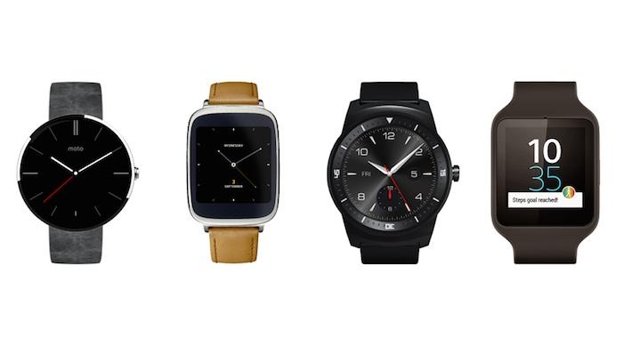 Smartwatches Android Wear annoncées à l'IFA 2014