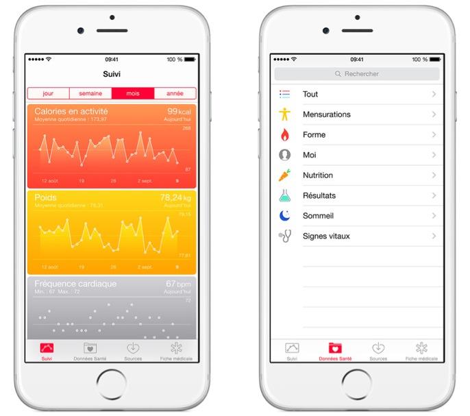 Apple a dû reporter le lancement d'apps HealthKit pour iOS 8