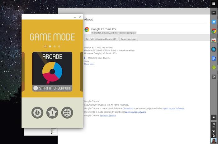 Exécuter officieusement la plupart des apps Android sur un Chromebook