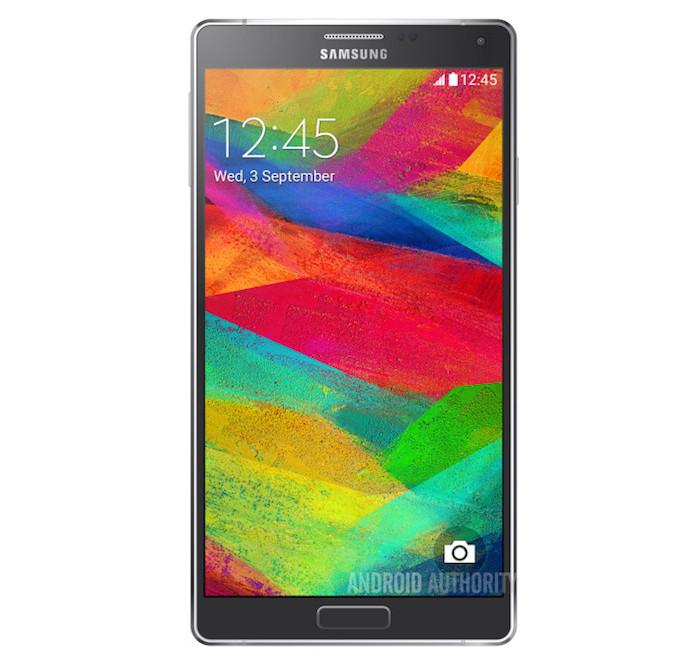 Galaxy Note 4 : des photos de presse du smartphone de Samsung