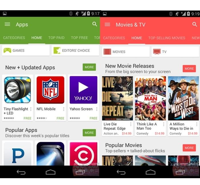 Google Play Store 5.0 : Movies & TV