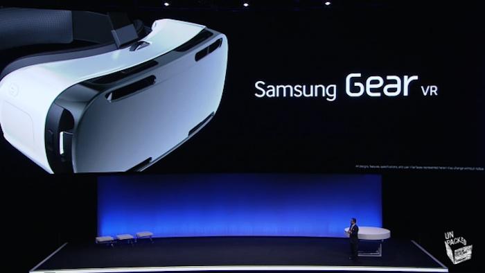 IFA'14 : Gear VR, le casque de réalité virtuelle pour le Galaxy Note 4