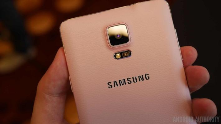 Galaxy Note 4 : La société a également accordé une attention particulière aux caméras