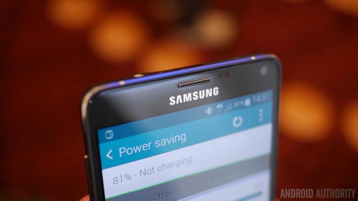 Galaxy Note 4 : il offrirait une excellente autonomie
