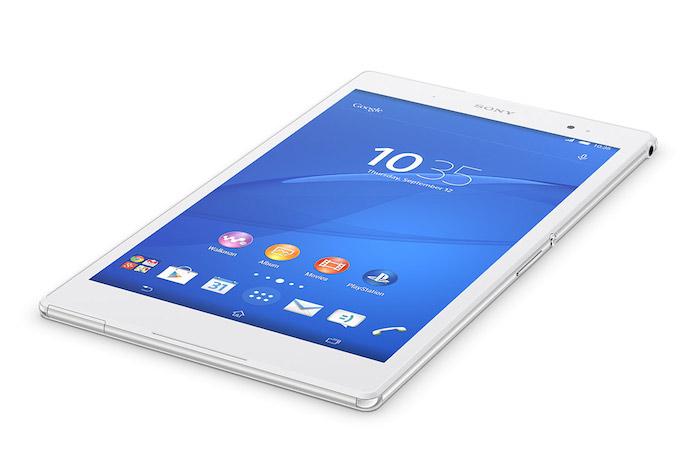 IFA'14 : Sony dévoile sa tablette Xperia Z3 Tablet Compact - vue de face