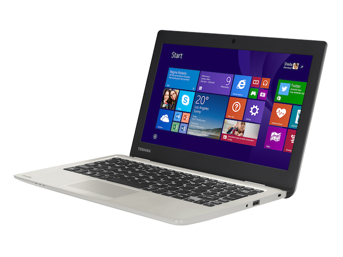 IFA'14 : Toshiba Satellite CL10-B, le Chromebook-Windows
