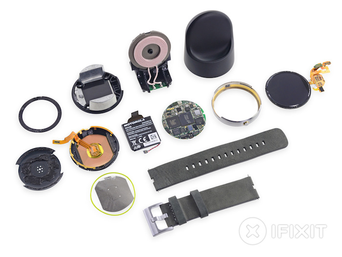 iFixit dissèque la Moto 360 de Motorola