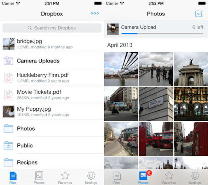 iOS 8 : Dropbox suspend la sauvegarde automatique