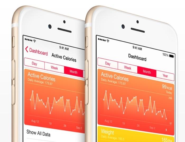 iOS 8 : HealthKit