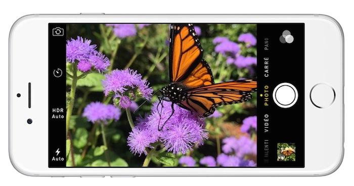 Appareil photo de l'iPhone 6 Plus