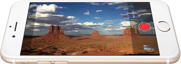 iPhone 6 : caméra