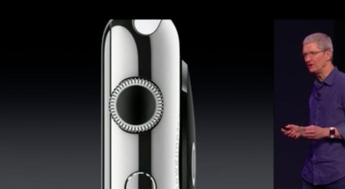 Apple Watch : la molette