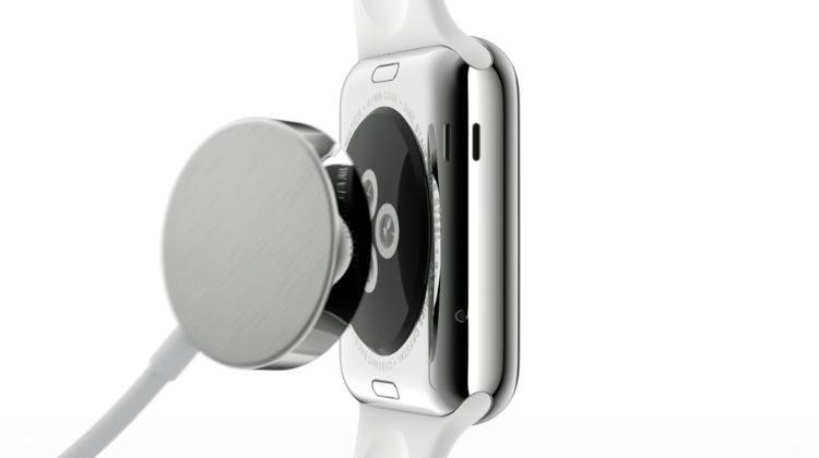 Apple Watch : rechargement