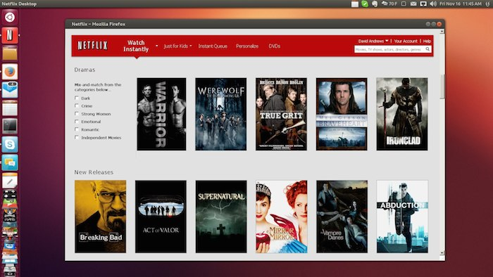 La prise en charge native pour Netflix arrive sur Ubuntu
