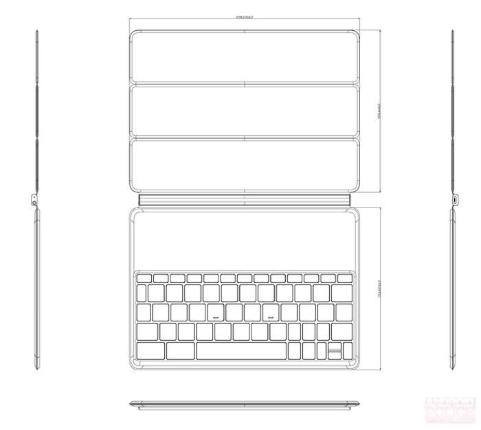 Nexus 9 : la tablette de HTC arriverait avec un dock clavier