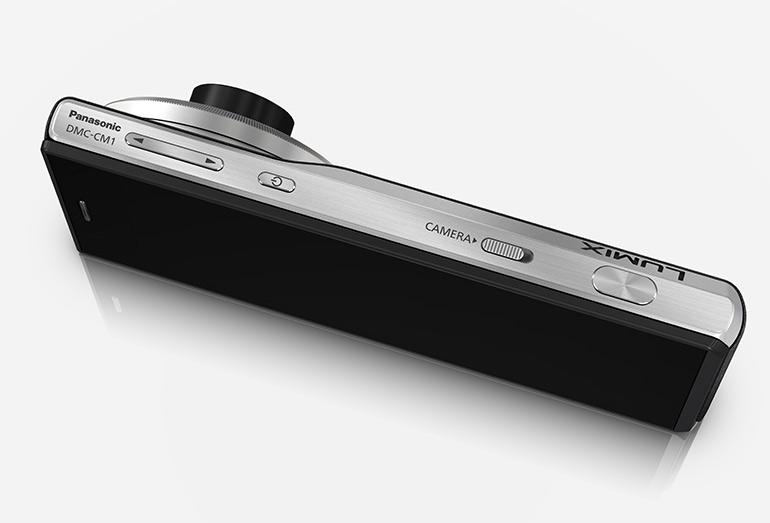 Panasonic Lumix CM1 - vue de dessus