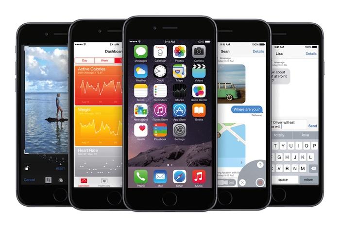 Si vous possédez un iPhone 4S, n'installer pas iOS 8