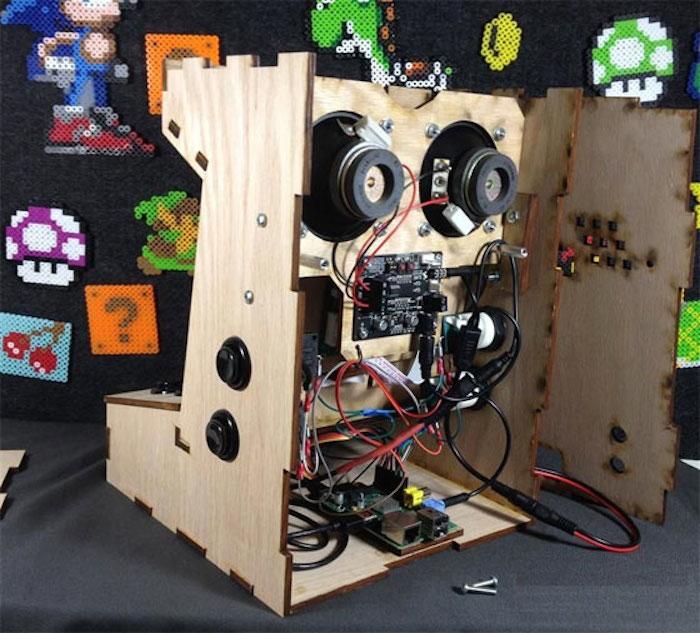 un kit pour une borne de jeu embarquant un raspberry pi. Black Bedroom Furniture Sets. Home Design Ideas