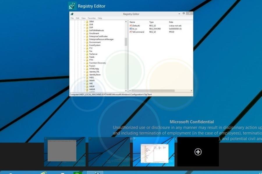 Windows 9 - quelle quantité de bureaux virtuels ?