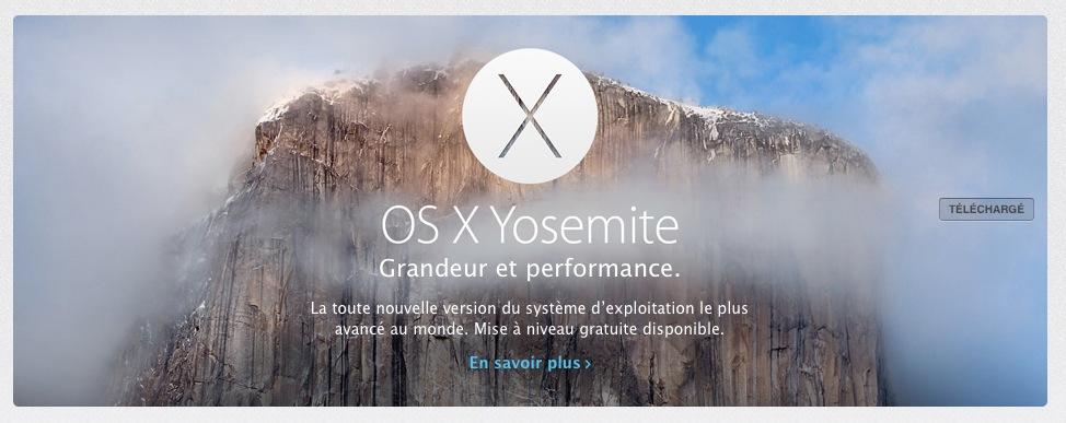 DiskMaker X - téléchargement de OS X Yosemite