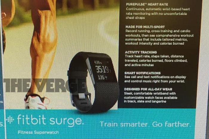 Fitbit prépare la Surge, une smartwatch à 250 dollars