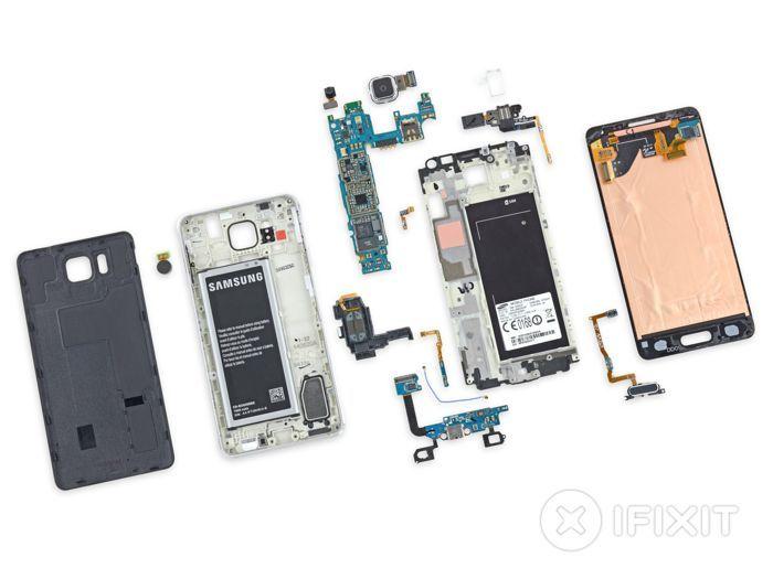 Galaxy Alpha : le smartphone de Samsung démonté par iFixit - 3