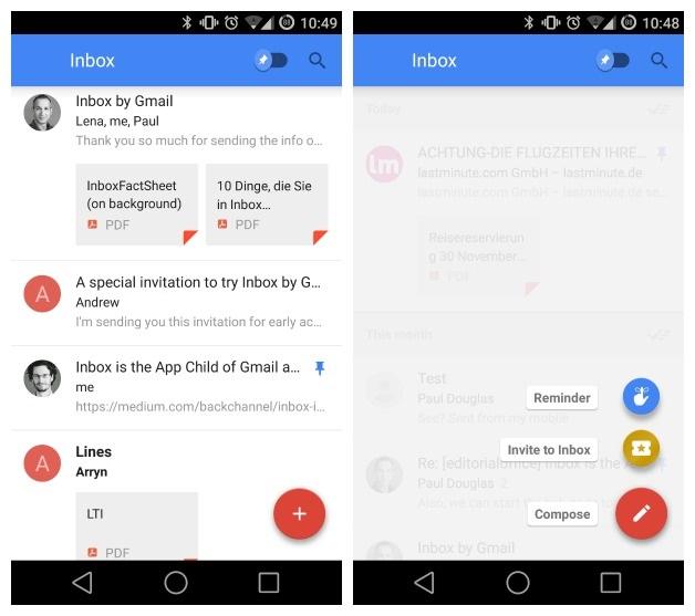Google Inbox : comment trouver et partager des invitations ?