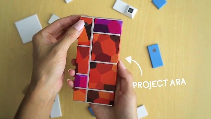 Google Project Ara : vous pourrez changer à chaud les composants
